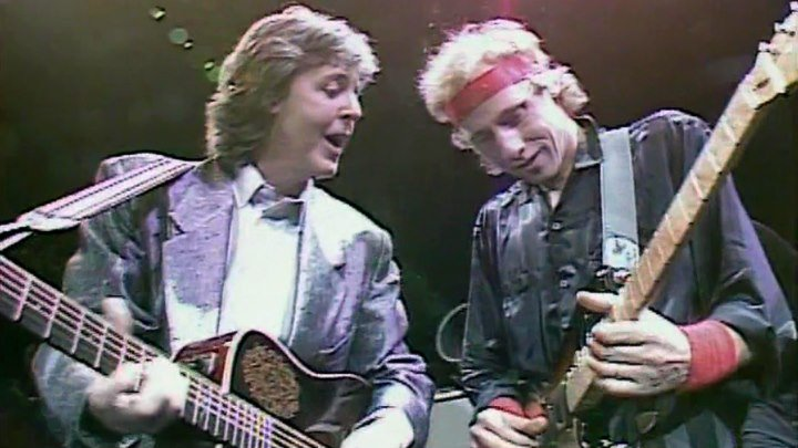 PAUL McCARTNEY, E.Clapton,Dire Straits,B.Adams,E.John,P.Collins..-I Saw Her Standing There/Long Tall Sally. 1986