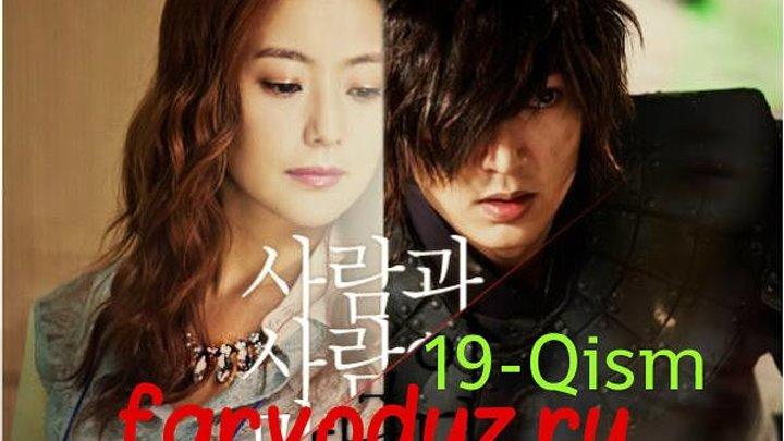 """""""UMID"""" 19-QISM UZBEK TILIDA (YANGI KOREA SERIALI)"""