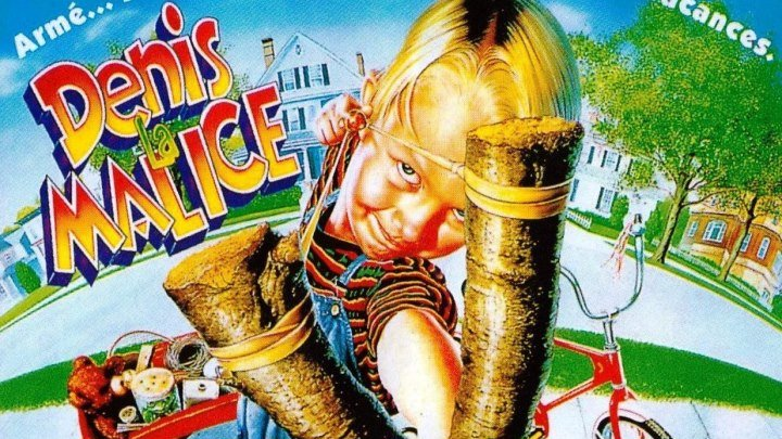 """""""Деннис-мучитель"""" _ (1993) комедия,семейный. HD 720p."""