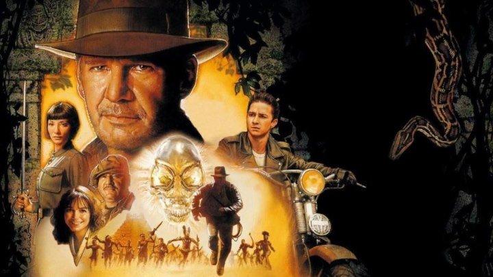 12+Индиана Джонс и Королевство хрустального черепа(2OO8) 60fps фантастика, боевик, триллер, приключения