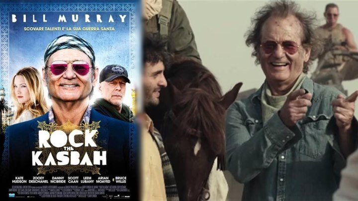 Рок на Востоке - Rock the Kasbah (720x304p)[2015 США, комедия, музыка, HDRip] Dub (1.37Gb)