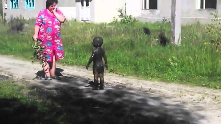 Больше грязи-здоровее ребенок / качество HD