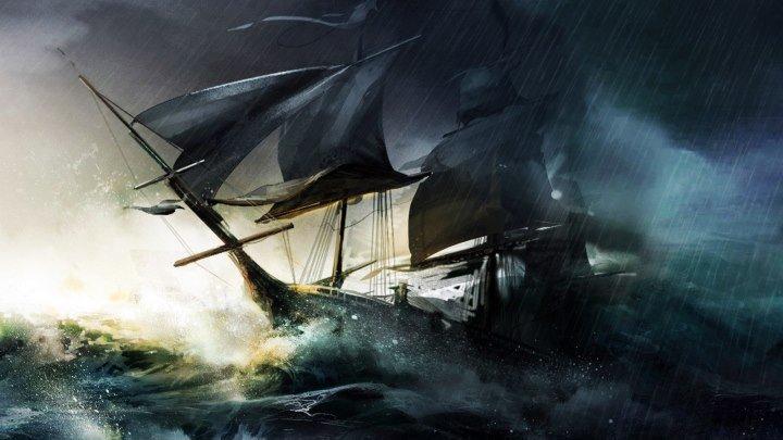 Впечатляющие кадры, океан во время шторма!