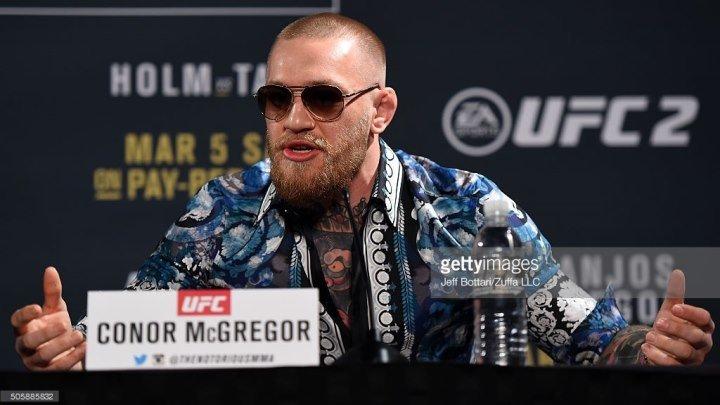 Конор МакГрегор на пресс-конференции к UFC 197 (русск.озвучка)
