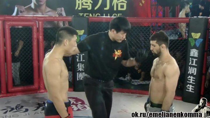 Расул Миразаев (Россия) vs. Танг Ли Жи (Китай). Китай. 21 января 2016.