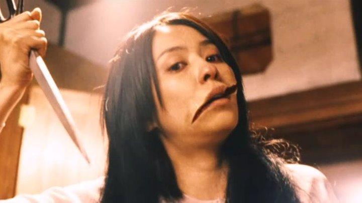 Женщина с разрезанным ртом (2007)