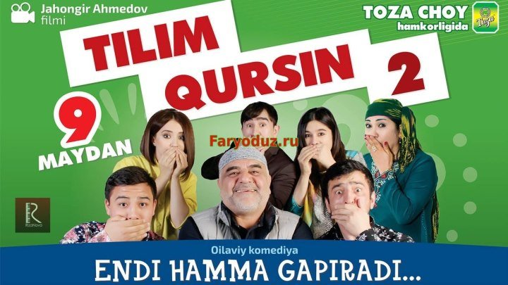 Tilim qursin - 2 (oilaviy komediya to'liq)