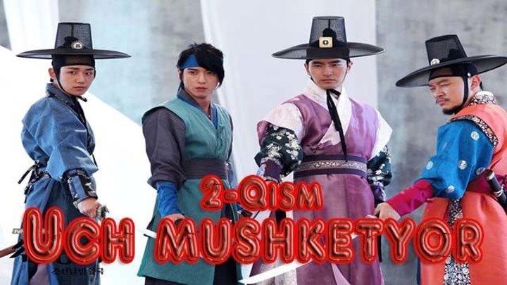 Uch mushketyor 2-Qism
