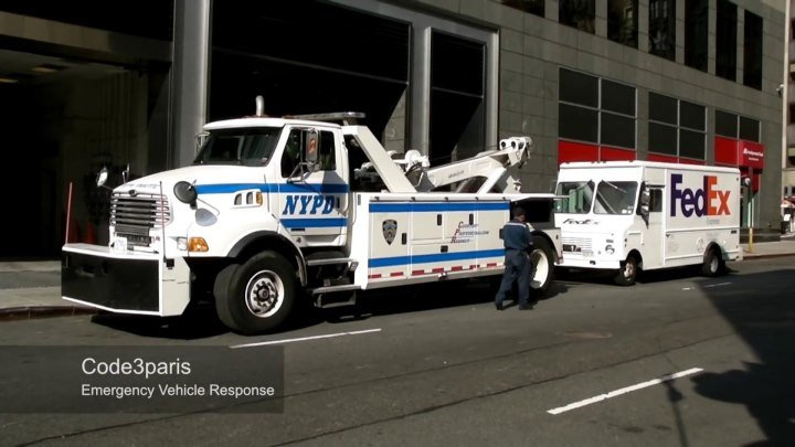 NYPD Police Tow Trucks Recovery (collection)