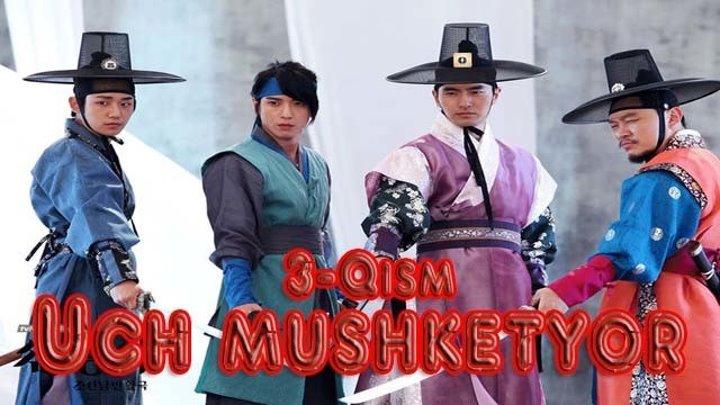 Uch mushketyor 3-Qism