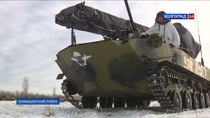 56 ОДШБр поднята по тревоге, в Южном военном округе началась внезапная проверка боеготовности. Волгоград ТРВ.