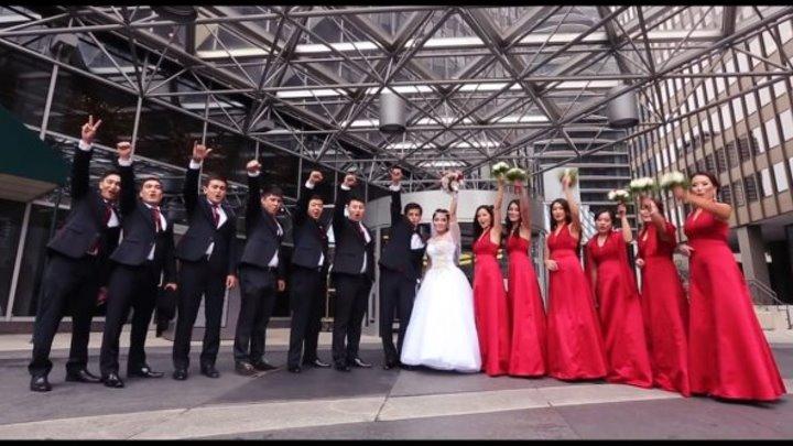 Самая незабываемая и шикарная свадьба Кыргызов в Чикаго. Азамат & Азиза.