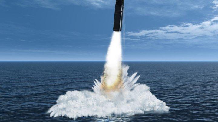 Ядерный удар- русская «Синева»