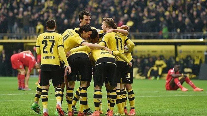 Бундеслига 21-тур, Боруссия Дортмунд (1-0) Ганновер (13.02.16)