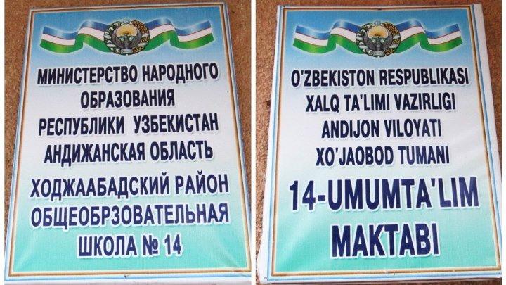 Садвинсовхоз Мадьярова - Школа №14-2016год