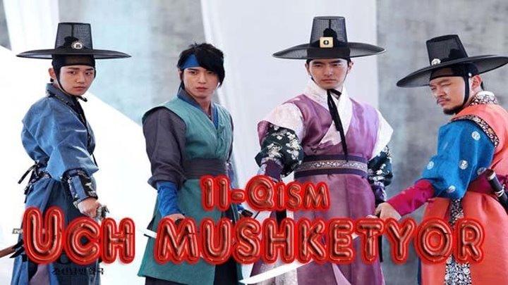 Uch mushketyor 11-Qism