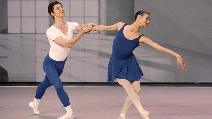"Анастасия Соболева и Виктор Лебедев. Адажио из балета ""Класс-концерт"""