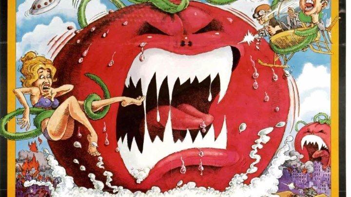 Нападение помидоров-убийц / Attack of the Killer Tomatoes! (1978)комедия, мюзикл ,ужасы, фантастика