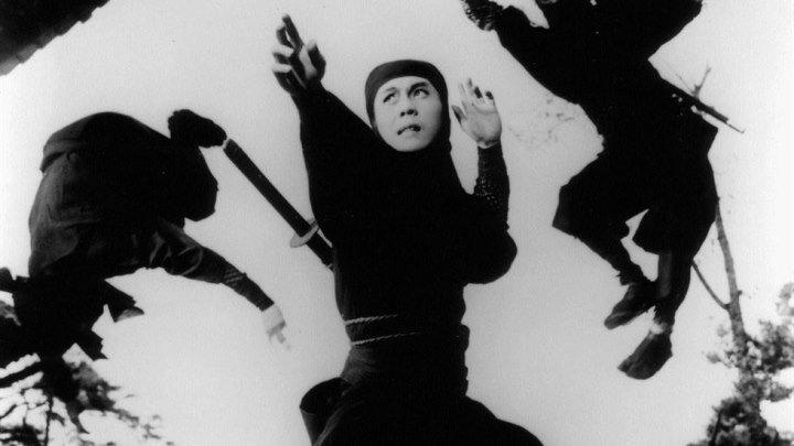 Ниндзя 7 (1966) / Синоби 7 / Shin Shinobi no Mono - Kirigakure Saizou. Историческая драма