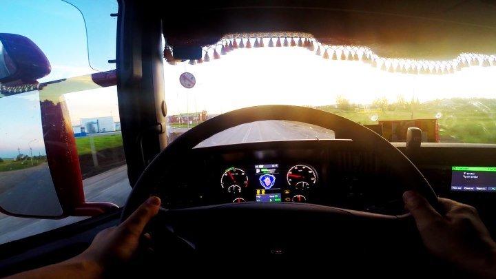 Один день из жизни водителя Scania!!
