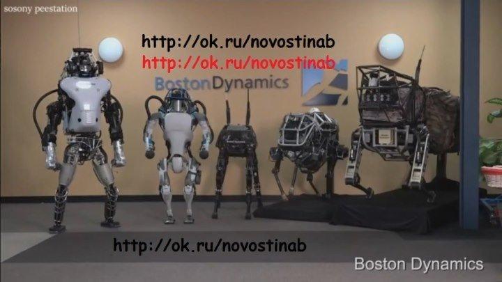 FUTURE & ROBOTS (Atlas, The Next Generation & Deus Ex)