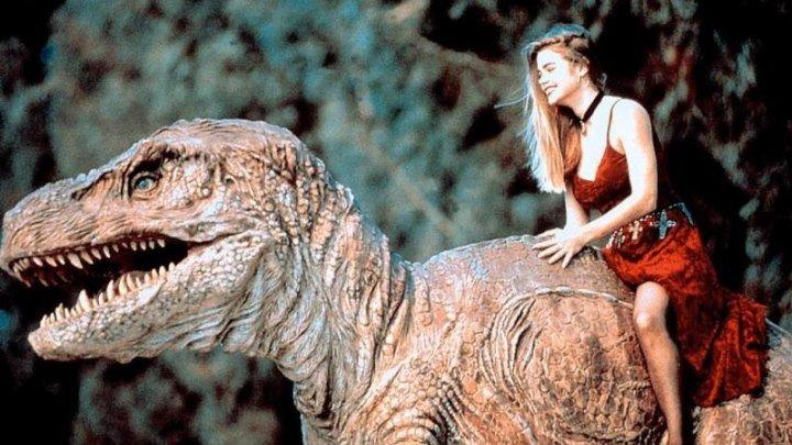Дикарка-нимфоманка в аду у динозавров / Нимфа варваров в аду динозавров / A Nymphoid Barbarian in Dinosaur Hell [1990 г., Фантастика, Трэш, Ужасы]