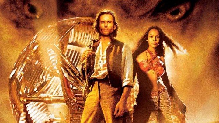 Машина времени 2002 фантастика, приключения.