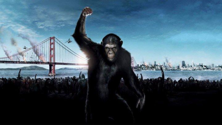 Восстание планеты обезьян (2011) _ Фантастика, боевик, триллер