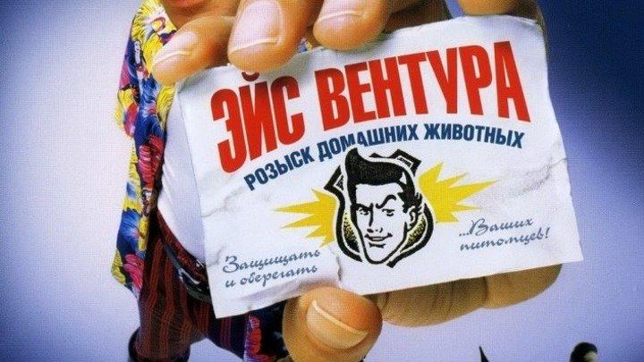 Эйс Вентура 1993 Канал Джим Керри