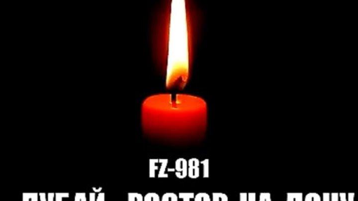 Ростов-на-Дону разбился пассажирский самолет СКОРБИМ ВМЕСТЕ