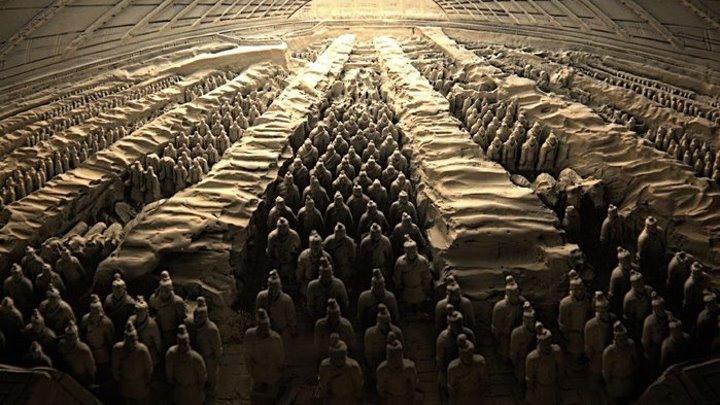 Глиняная армия императора Цинь.