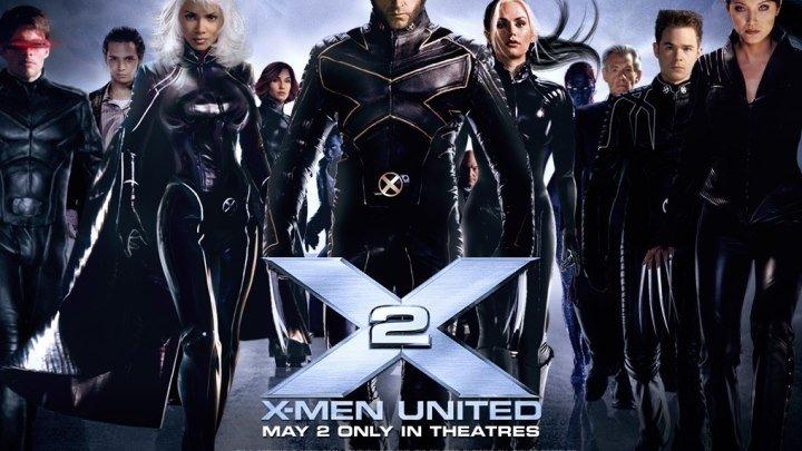 Люди Икс 2 ‧ PG-13 (USA) ‧ 2003 г. ‧ Кинофантастика/Триллер ‧ 2ч 14м