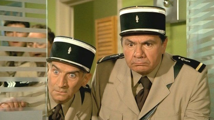 Жандарм из Сен-Тропе 1964 Французская комедия.