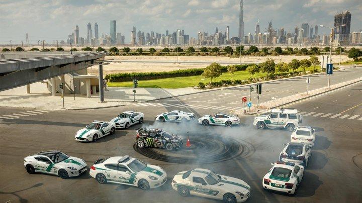 KEN BLOCK'S Ford Fiesta ST RX43.ULTIMATE EXOTIC PLAYGROUND- DUBAI