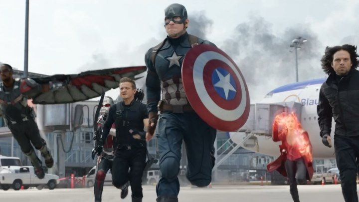 """Капитан Америка или Железный Человек? Время выбрать, на чьей вы стороне! Смотрите новый захватывающий трейлер к одному из главных блокбастеров года. И обязательно до конца! :) Фильм MARVEL """"Первый мститель: Противостояние"""" в кино уже с 5 мая."""