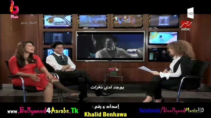 Shah Rukh Khan and Kajol interview in Mbc Masr