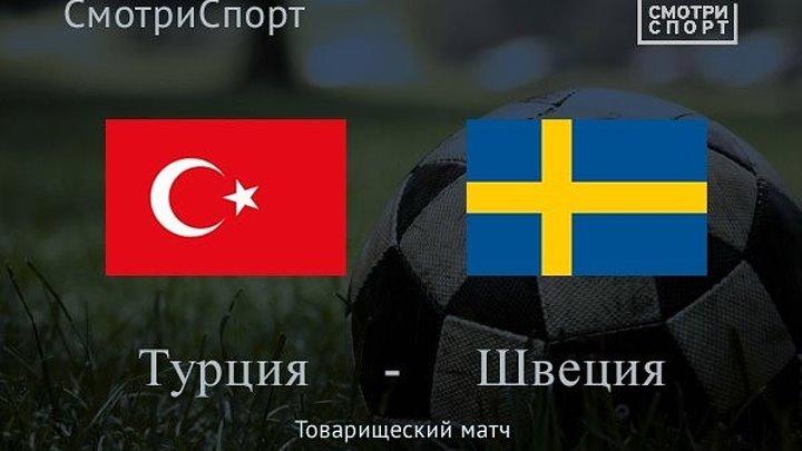 Турция 2-1 Швеция Товарищеский матч 2016 Обзор матча
