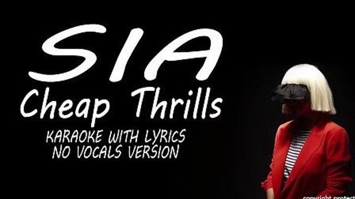 Sia - Cheap Thrills (Performance Edit)