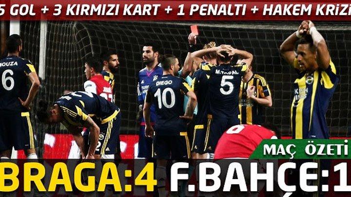 ☆ SPORTING BRAGA 4 - 1 FENERBAHÇE☆
