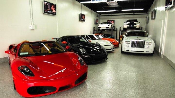 Желаю каждому иметь такой гараж