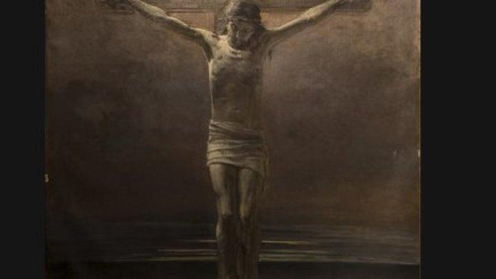 «Распятие». Русский живописец Николай Ге. Библейский сюжет