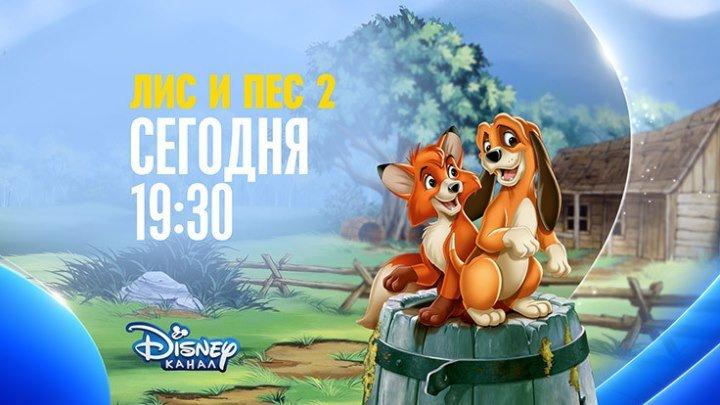 """""""Лис и пёс"""" на Канале Disney!"""