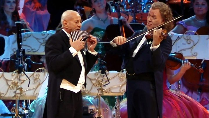 "🎼 André Rieu & Gheorghe Zamfir ""The Lonely Sheeperd • Одинокий пастух"" (HD72Ор) • Концертное видео"