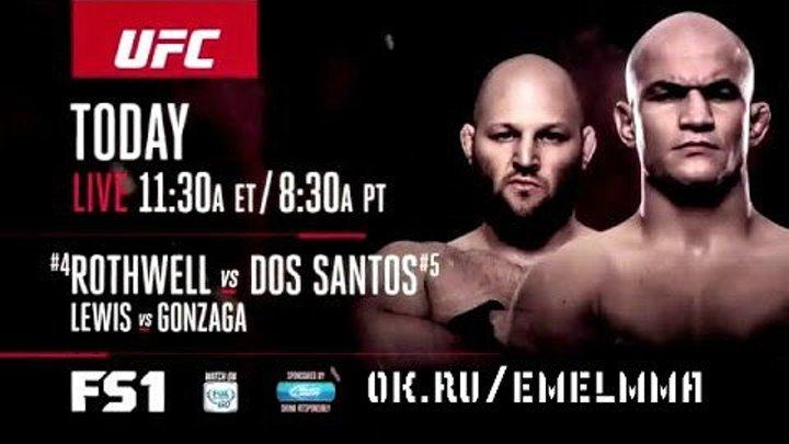 ★ Fight Night Zagreb: Rothwell vs Dos Santos - Live on FS1 Today ★