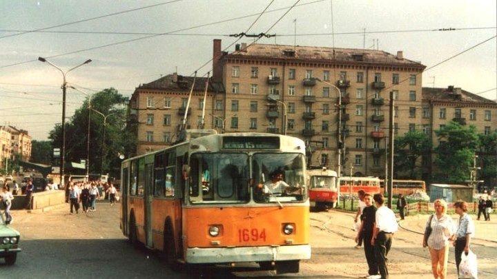 Днепропетровск. Съемка 1992 года