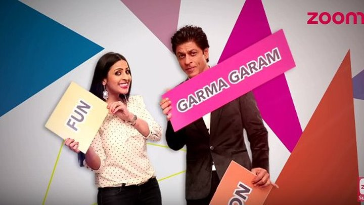 'FAN' Shah Rukh Khan На шоу Zoom TV (без перевода)