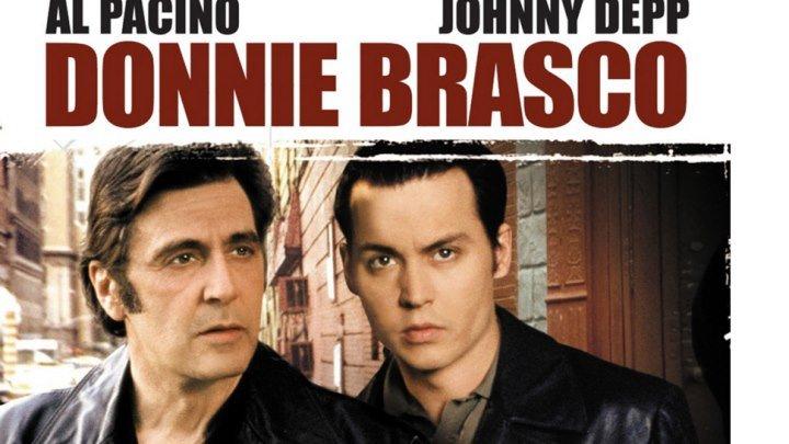 """""""Донни Браско"""" _ (1997) Драма,криминал,биография. (HD 720p.)"""