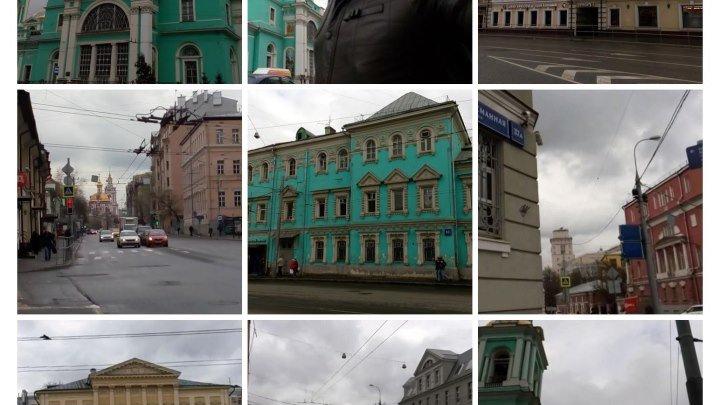 Москва по улице Спартаковской иду пешком