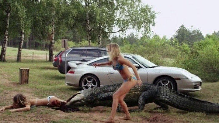 Озеро страха: Анаконда (2015) ужасы, фантастика