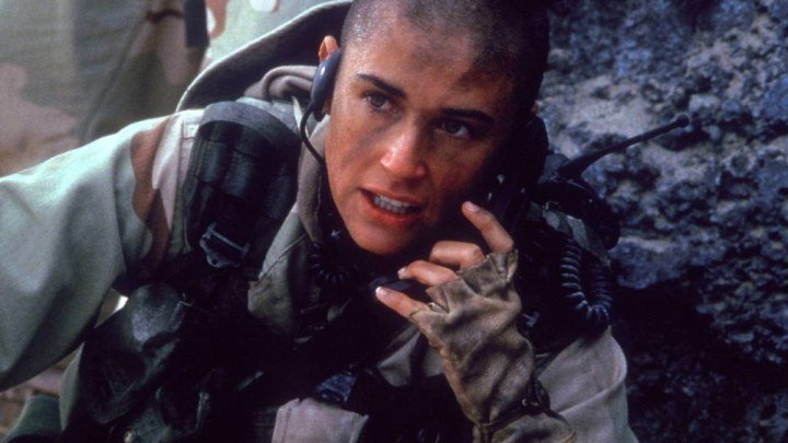 👑 Солдат Джейн / Боевик,драма,военный.✈